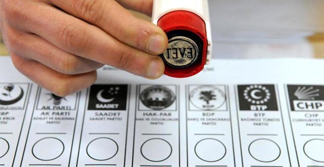 Yılın İlk Anketinde Partilerin Oy Oranı