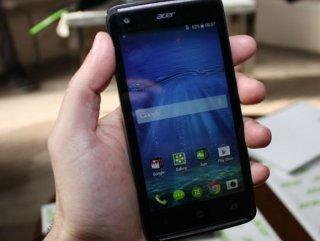 Acer akıllı telefonunu duyurdu