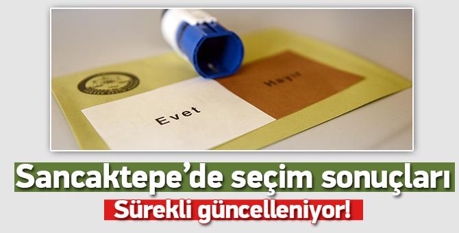 Sancaktepe 16 Nisan 2017 Referandum Sonucu