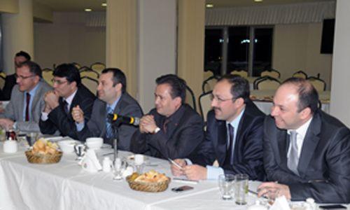 Başkan Yardımcıları Tuzla´da Toplandı