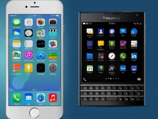 BlackBerry tweet'ini iPhone'dan paylaştı