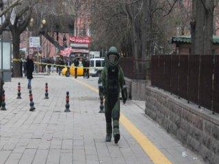 Ankara'da Otobüs Durağında Bomba Alarmı!