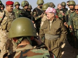 Barzani'den Türkiye'ye Kobani Teşekkürü