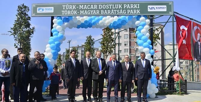 Türk- Macar Dostluk Parkı Açıldı