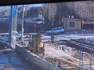 Niğde'de tren kazasının Görüntüleri Ortaya Çıktı
