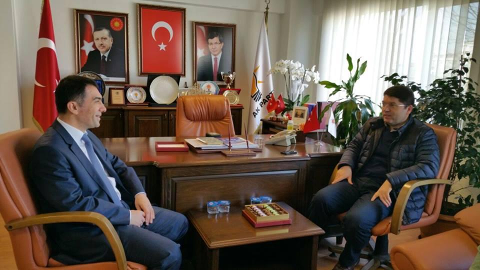 Milletvekili Yılmaz Tunç'dan, Rüstem Kabil'e Ziyaret