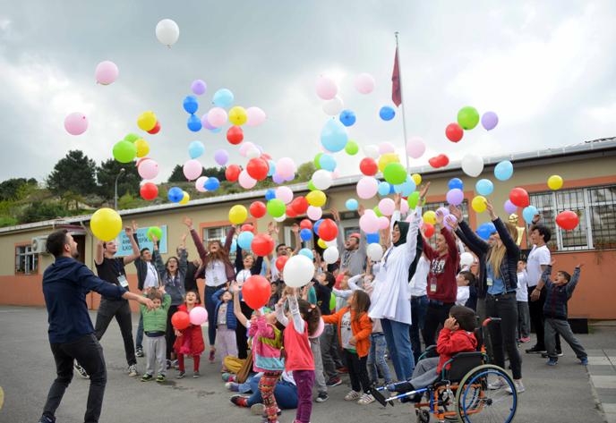 23 Nisan Çocuk bayramını böyle kutladılar