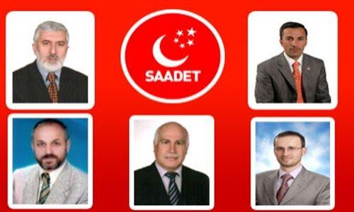 Saadet Partisinin Pendik'in Aday Adayları