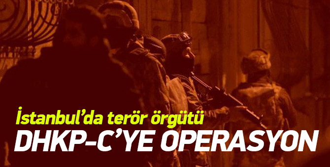 İstanbul'da DHKP-C operasyonu: 2 gözaltı