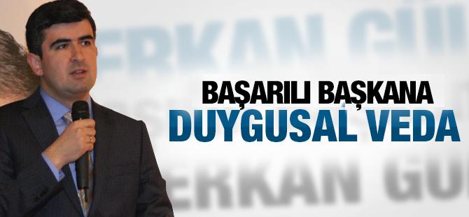 Erkan Gül'e duygu dolu uğurlama
