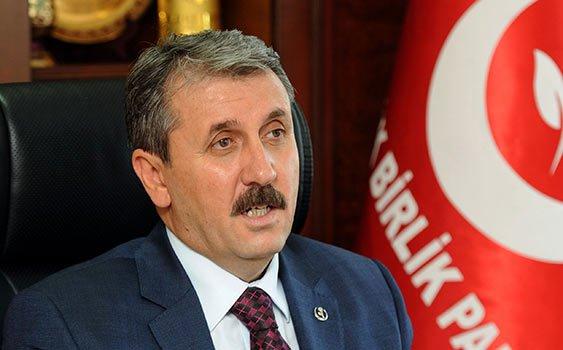 """Mustafa Destici, """"Bizi Dünya'ya Rezil Ettiler"""""""