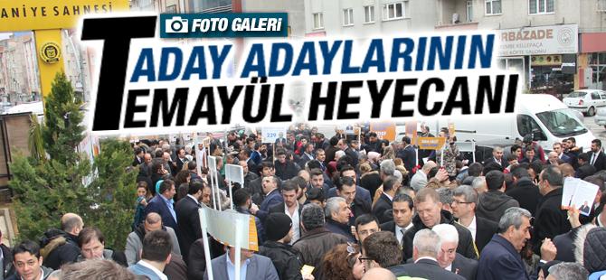 Ak Parti İstanbul 1. Bölge'de Temayül Heyacanı