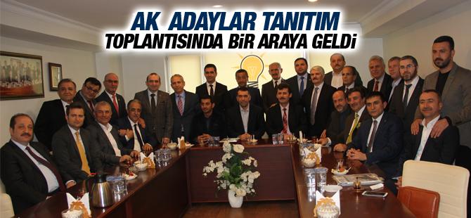 Ak Parti Pendik Aday Adayları Tanıtım Toplantısı düzenledi