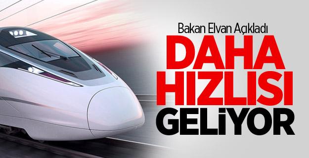 Bakan'dan 400 km Hız Yapan Tren Müjdesi