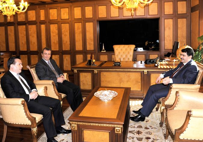 Vali Şahin, Başkan Yazıcı'yı Ziyaret Etti