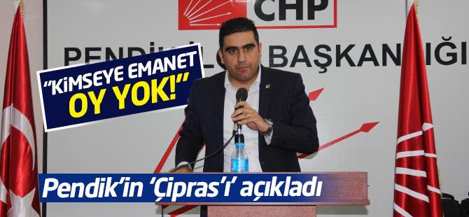 Kemal Ercan 'HDP'ye Emanet Oy Yok'