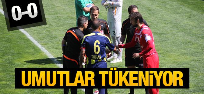 Pendikspor'da Umutlar Tükeniyor: Pendikspor:0 - Tarsus İdman Yurdu:0