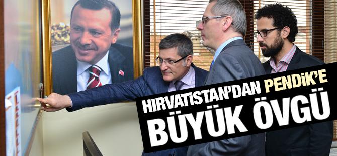 Hırvatistan'dan Pendik'e büyük övgü