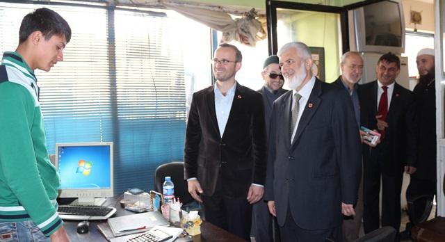 Saadet'li Aday Adayları Çalışmalarına Devam Ediyor