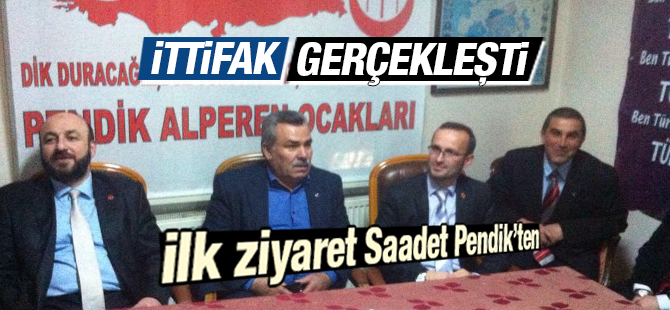 SP Pendik İlçe Başkanı Kılıç'tan BBP İlçe Başkanı Gümüş'e Ziyaret