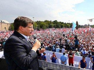 Başbakan Davutoğlu İlk Mitingini Erzurum'da Yapacak