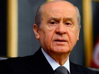 "Devlet Bahçeli'den Reçete ""Tek Çare MHP"""