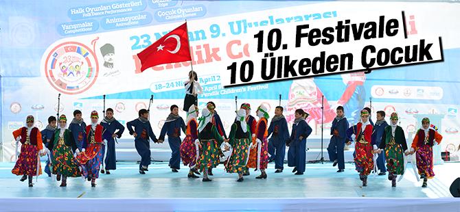 10. Festivale 10 Ülkeden Çocuk