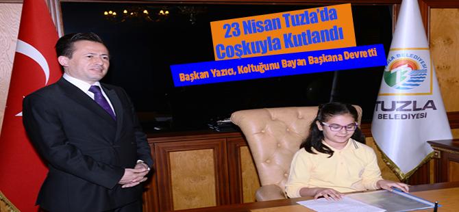 23 Nisan Tuzla'da Coşkuyla Kutlandı