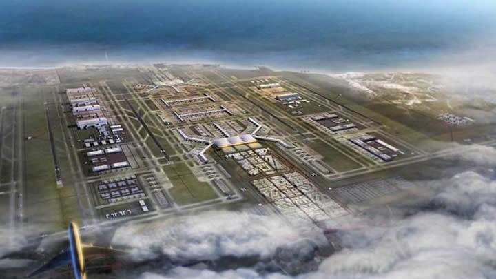 3.havalimanının yer teslimi yapıldı