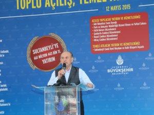 Kadir Topbaş'tan Sultanbeyli'ye 3 Yeni Metro Açıklaması