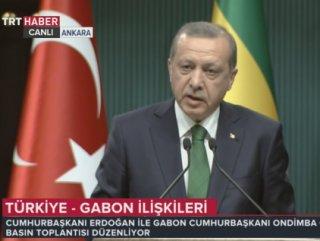 """Cumhurbaşkanı Erdoğan """"Libya'daki sürecin takipçisiyiz"""""""