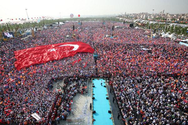 AK Parti  Milyonları Yine Maltepe'de Buluşturdu