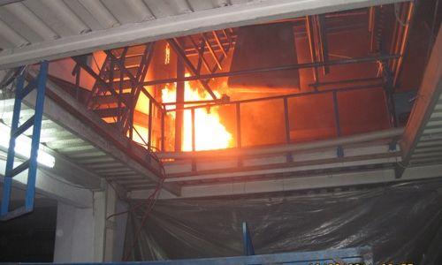 Pendik´te Fabrika Yangını