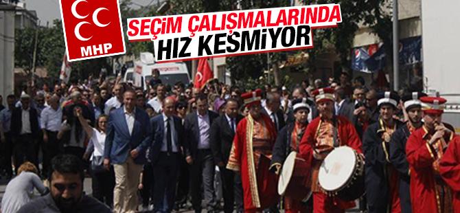 MHP Seçim Çalışmalarında Hız Kesmiyor