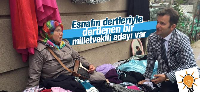 Alim Erdemir Maltepeli Esnafları Ziyaret etti
