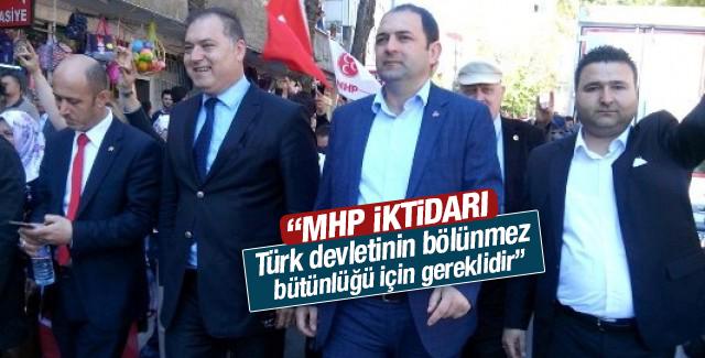 """""""MHP İktidarı Türk Milettinin bölünmez bütünlüğü için gereklidir"""""""
