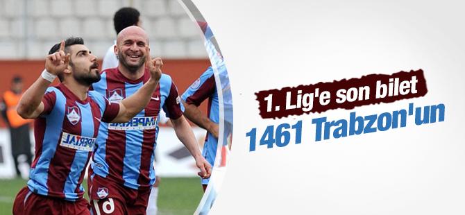 1. Lig'in Son Biletini 1461 Trabzonspor aldı