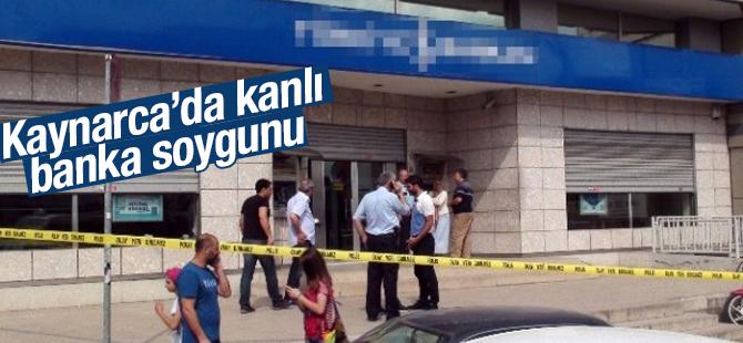Pendik Kaynarca'da Silahlı banka soygunu : 1 Yaralı var