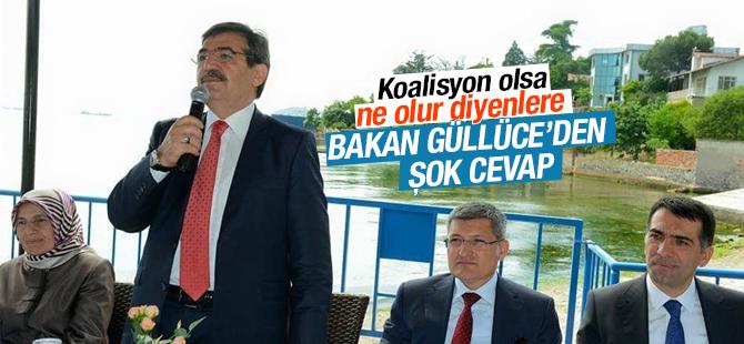 Bakan Güllüce'den Koalisyon olursa ne olur açıklaması
