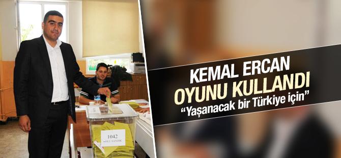 CHP Pendik İlçe Başkanı Kemal Ercan, Oyunu Kullandı