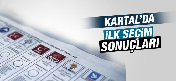 Kartal'da İlk Seçim Sonuçları