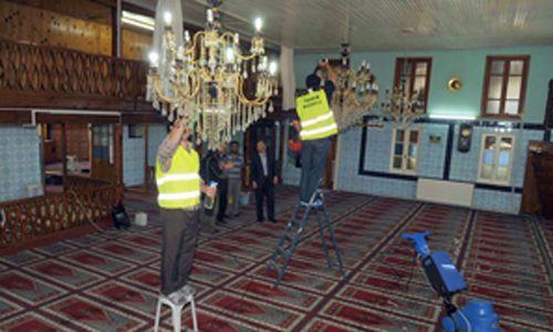 Tuzla´da Camiler Ramazana Hazırlanıyor