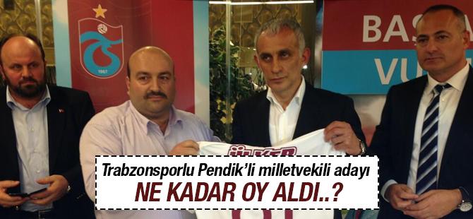 Trabzonsporlu Bağımsız aday Metin Kaya kaç oy aldı