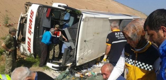 Sivas Feci Kaza: 25 Yaralı Var!