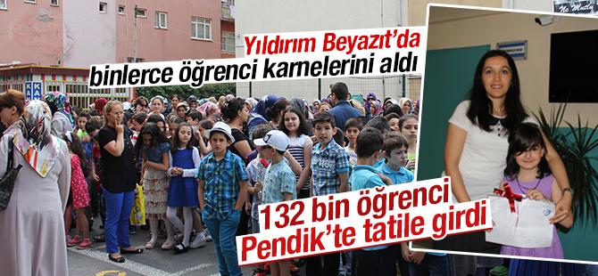 Pendik'te 132 Bin Öğrenci yaz tatiline girdi
