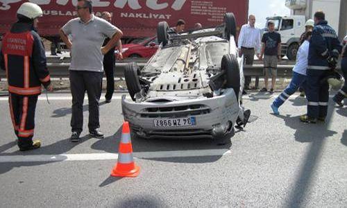 Fatih Mahallesinde Trafik Kazası