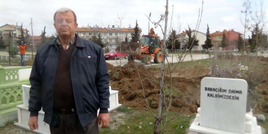 Mezarlık davası cenazelerin nakliyle bitti