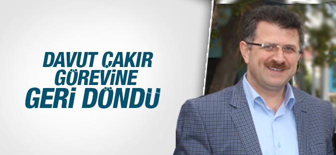 Davut Çakır Trabzon Büyük Şehir Belediyesine Geri Döndü