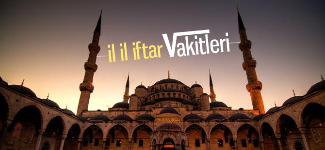 İstanbul için İftar vakitleri