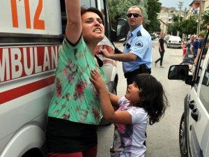 Kayseri'de baba kendi kızını rehin alıp boynuna ip geçirdi